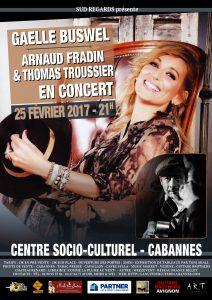 Concert Gaëlle Buswell - Arnaud Fradin & Thomas Froussier