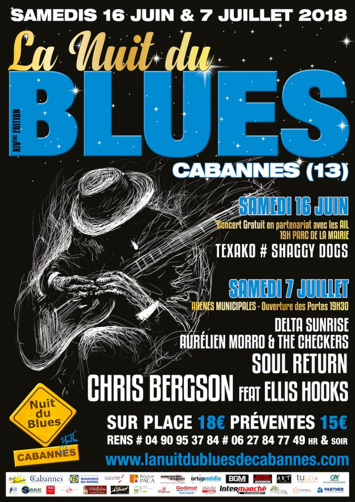 Nuit du Blues de Cabannes 2018